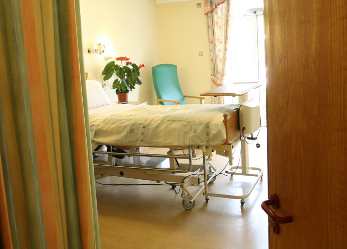 Milford Hospice Room