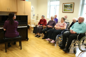 Nursing Home Music Therapy Session